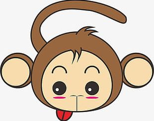 Cute Monkey PNG