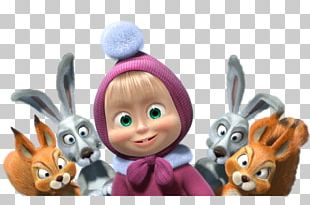 Masha And The Bear Animation PNG