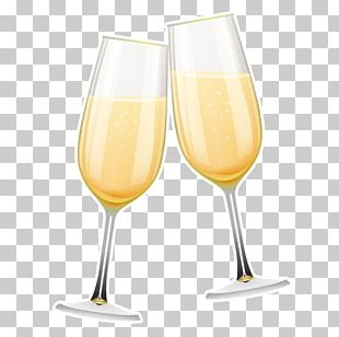 Wine Glass Bellini Champagne Cocktail Champagne Glass PNG