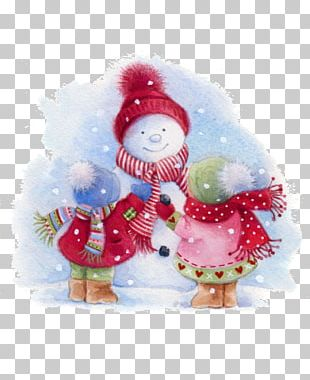 Snowman Christmas Ornament Drawing PNG