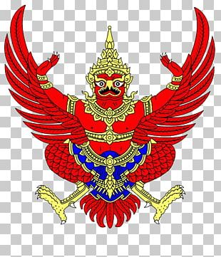 Emblem Of Thailand Garuda National Emblem Vishnu PNG