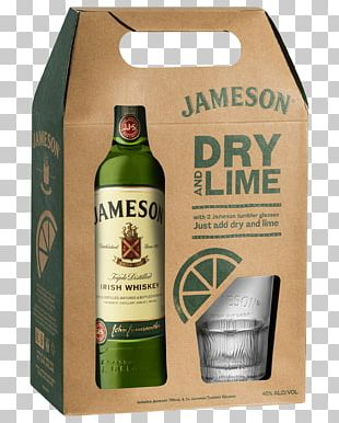 Liqueur Jameson Irish Whiskey Wine Bottle PNG