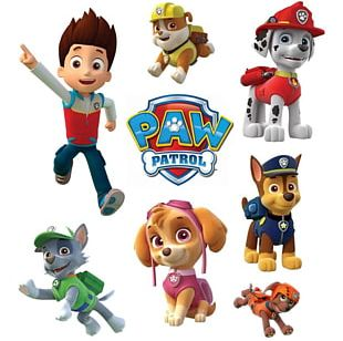 PAW Patrol Puppy Iron-on Paper Aircraft Wargames | Fighters PNG