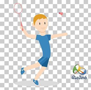 2016 Summer Olympics Rio De Janeiro Badminton Athlete PNG