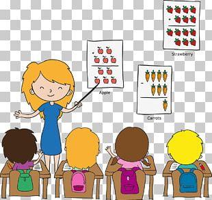 Teacher Classroom Cartoon Child PNG