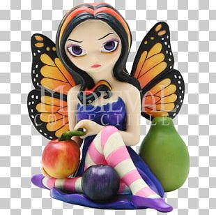 Fairy Figurine Statue Strangeling: The Art Of Jasmine Becket-Griffith Elf PNG