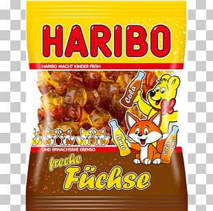 Gummi Candy Gummy Bear Cola Red Fox Haribo PNG