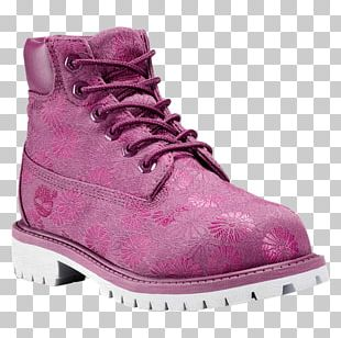 The Timberland Company Boot Shoe Foot Locker Pink PNG
