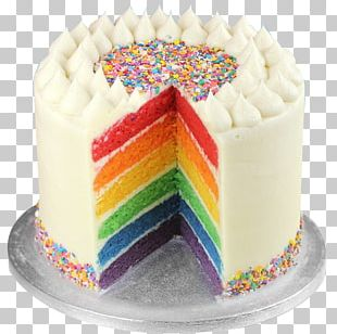 Rainbow Cookie Layer Cake Wedding Cake Sponge Cake Birthday Cake PNG