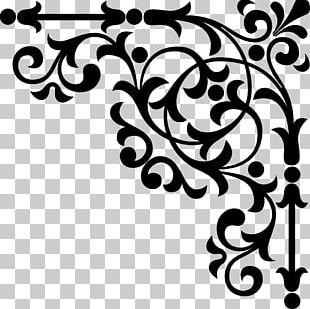 Floral Ornament PNG