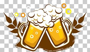 Draught Beer Wine Drink Bottle PNG