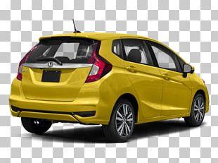 Honda Motor Company Compact Car 2018 Honda Fit EX-L PNG