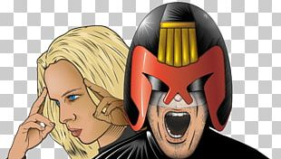 Judge Dredd Judge Anderson Art PNG