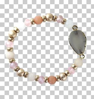 Pearl Bracelet Necklace Gold Bead PNG
