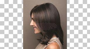 Long Hair Layered Hair Wig Step Cutting Hair Coloring PNG
