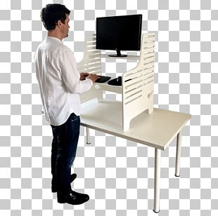 Standing Desk Standing Desk Office Supplies PNG