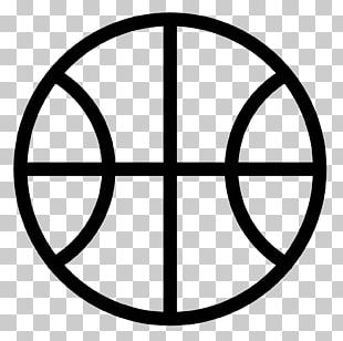 Outline Of Basketball Sport Basketball Court PNG