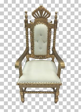 Table Coronation Chair Furniture Silver Throne PNG