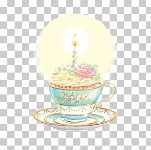 Birthday Cake Greeting Card Happy Birthday To You Teacup PNG