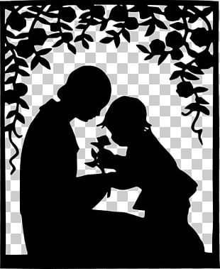 Mother Child Silhouette PNG
