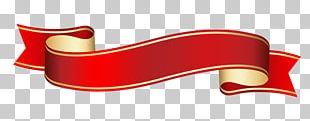 Red Ribbon Banner PNG