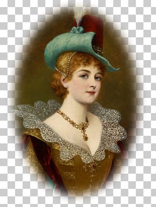 Painter Painting Portrait Of A Noblewoman Work Of Art PNG