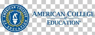American College Of Education Master's Degree Academic Degree PNG