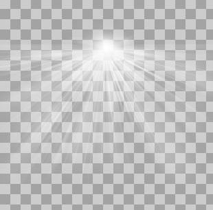 Black And White Symmetry Daytime Pattern PNG