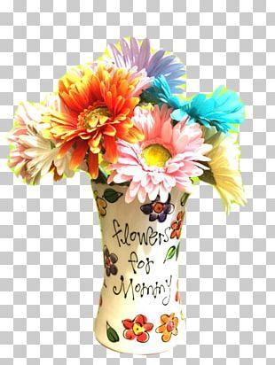 Floral Design Vase Flower Bouquet Cut Flowers PNG