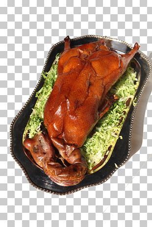 Roast Goose Chinese Cuisine Domestic Goose Roast Chicken PNG