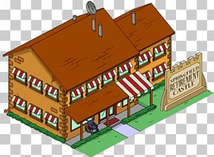 The Simpsons: Tapped Out Grampa Simpson Springfield Retirement Castle The Simpsons Game PNG