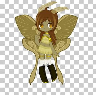 Butterfly Horse Fairy Cartoon PNG