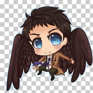 Castiel Dean Winchester Drawing Fan Art Chibi PNG