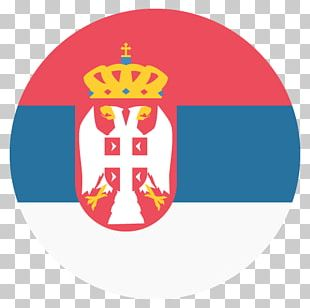 Flag Of Serbia Emoji National Flag PNG