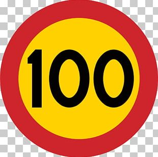 Kilometer Per Hour Road Speed Limit Highway Traffic Sign PNG
