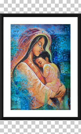 Mother And Child YouTube Painting Abstract Art PNG
