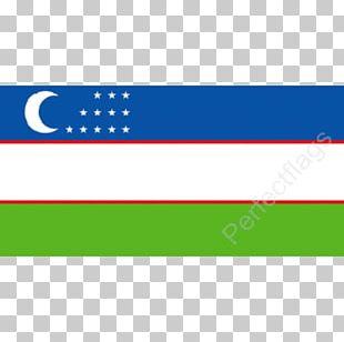 Flag Of Uzbekistan National Flag PNG