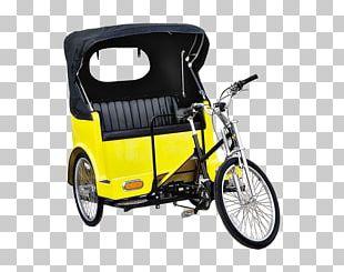 Cycle Rickshaw Car Bicycle Bike Rental PNG