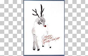 Paper Reindeer Watercolor Painting Vertebrate PNG