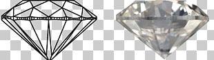 Jewellery Brilliant Diamond Ring Cut PNG