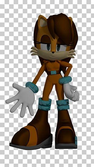 Sam The Squirrel Sonic 3D Art Meerkat PNG