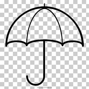 Coloring Book Umbrella Drawing Rain PNG