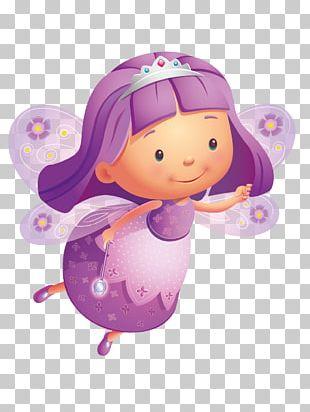 Purple Fairy PNG