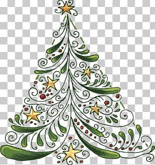 Wedding Invitation Christmas Tree Party Christmas Card PNG