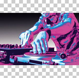 Turntablism Poster Disc Jockey Pop Art Music PNG