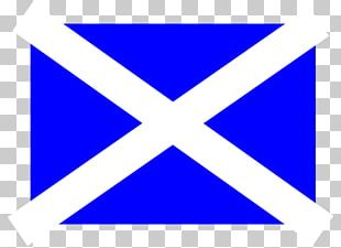 Flag Of Scotland Stock Photography PNG
