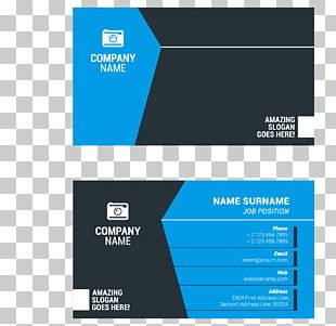 Business Card Surname Visiting Card Illustration PNG