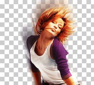 Brown Hair Hair Coloring Red Hair Long Hair PNG
