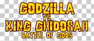 King Ghidorah Logo Brand Godzilla Font PNG