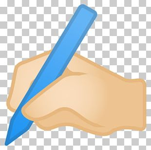 Human Skin Color Light Skin The Writing Hand PNG